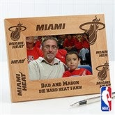 NBA Personalized Wood Photo Frame - 12044