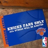 NBA Personalized Recycled Rubber Back Doormat - 12048