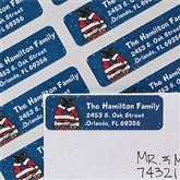 Merry Stressmas Return Address Labels - 12051