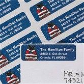Merry Stressmas Return Address Labels - 12051