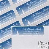 Christmas Blessing Return Address Labels - 12052