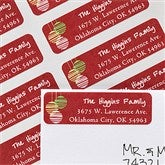 Picture Perfect Christmas Return Address Labels - 12055