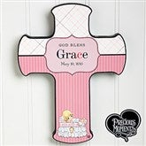 Precious Moments® Personalized Christening Baby Cross - 12067