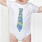 Dressed For Success Birth Info Personalized Baby Bodysuit - 12072-BB