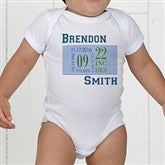 Baby's Big Day Personalized Clothes Baby Bodysuit - 12074-CBB