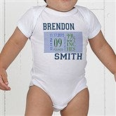 Baby's Big Day Personalized Clothes Infant T-Shirt - 12074-IT