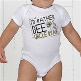 I'd Rather Bee With... Personalized Baby Bodysuit - 12078-CBB