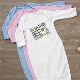 I'd Rather Bee With... Personalized Baby Gown - 12078-G