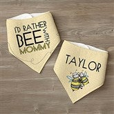 I'd Rather Bee With... Personalized Bandana Bibs- Set of 2 - 12078-BB