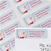 Snow Family Address Labels - 12083