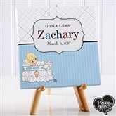Precious Moments® Personalized Christening Baby Canvas - 12084