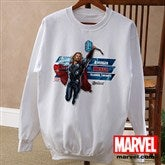 The Avengers® Adult White Sweatshirt - 12090-AWS