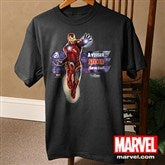 The Avengers® Adult Black T-Shirt - 12090-ABT