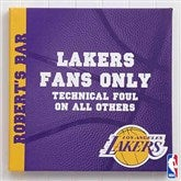 NBA Personalized Canvas Art - 12103
