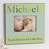 Just For Them Personalized 5x7 Wall Frame For Boys - 12105