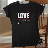 Elvis Love Me Tender™ Ladies Fitted Tee - 12106-LT