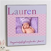 Just For Them Personalized 5x7 Wall Frame For Girls - 12107