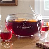 Lenox® Family Celebration Personalized 8 Pc Punch Bowl Set - 12111
