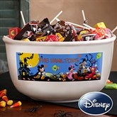 Disney® Personalized Halloween Candy Bowl - 12119