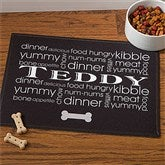 Doggie Delights© Personalized Meal Mat - 12127