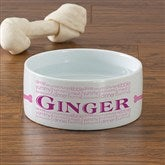 Doggie Delights Personalized Pet Bowl - Small - 12129-S