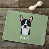 Top Dog Breeds Personalized Dog Food Mat - 12131