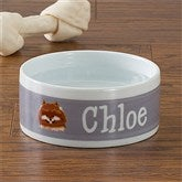 Top Dog Breeds Personalized Dog Bowl - Small - 12132-S