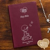 Precious Moments® Children's Personalized Bible - Burgundy - 12140-B