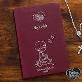 Precious Moments® Children's Personalized Bible - Burgundy - 12140-B
