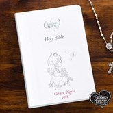 Precious Moments® Children's Personalized Bible - White - 12140-W