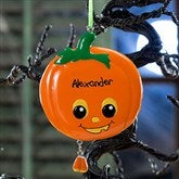 Pumpkin Pal Personalized Ornament