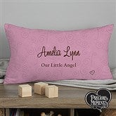 Precious Moments® Personalized Baby Lumbar Throw Pillow - 12162-LB
