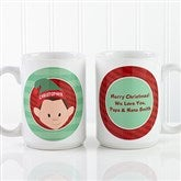Christmas Character Personalized Mug & Hot Cocoa - 15 oz. - 12194-L