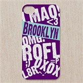 Text Message iPhone 4/4s Cell Phone Insert - 12201-E