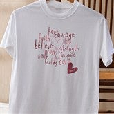 Love Life Personalized T-Shirt - 12202-RT