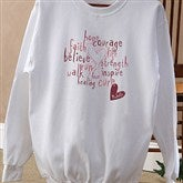 Love Life Personalized Sweatshirt - 12202-SS