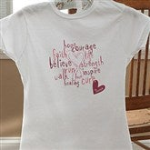 Love Life Personalized Fitted T-Shirt - 12202-FT