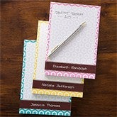 Her Design Personalized Note Pad - 12210