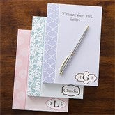 Trendy Signature Personalized Notepad - 12211