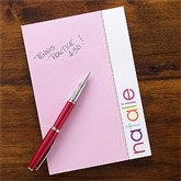 My Name Personalized Girl Notepad - 12212
