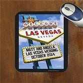 Welcome To Las Vegas Personalized Mouse Pad - 12216