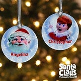 Santa Claus Is Comin' To Town® Personalized Ornament - 12224