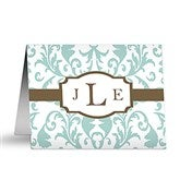 Trendy Signature Note Cards & Envelopes - 12229