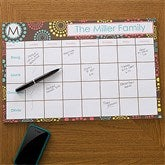 Simply Organized Personalized 11x17 Calendar Pad - 12231-L