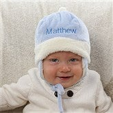 Winter Warmth Embroidered Baby Boy Hat - 12234