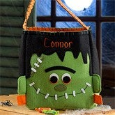 Freaky Frankie Embroidered Trick or Treat Bag - 12244