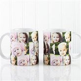 3 Photo Collage Personalized Coffee Mug 11 oz.-  White - 12247-S