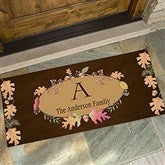 Autumn Hues Personalized Oversized Doormat - 12261-O