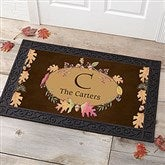 Autumn Hues Personalized Doormat- 20x35 - 12261-M