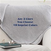 You Name It! Personalized Sweatshirt Blanket - 12262
